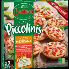 Piccolinis mexicana BUITONI, paquet de 9 soit 270g