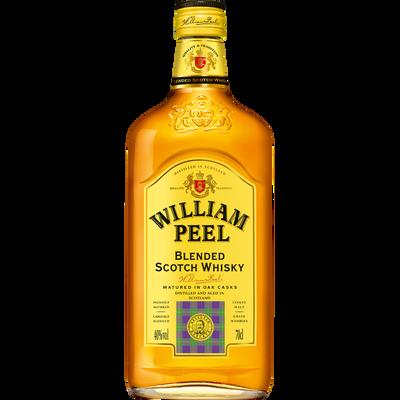 Scotch whisky WILLIAM PEEL, 40° 70cl