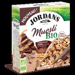 Céréales complètes muesli chocolat noir bio JORDANS 450g