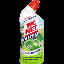 Gel aux huiles essentielles fleurs de citronnier WC NET, intense, flacon de 750ml