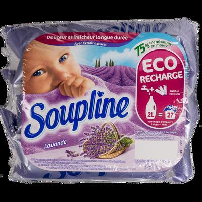 Assouplissant doses lavande SOUPLINE, 3x200ml