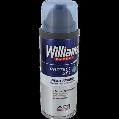 Gel à raser hypoallergénique peaux fragiles WILLIAMS, 200ml