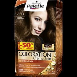 Coloration permanente PALETTE châtain chocolat 700