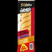 Sodeb'O Sandwich Le Méga, Baguette Viennoise, Poulet, Oeuf, Mayonnaise Légèresodebo, 270g