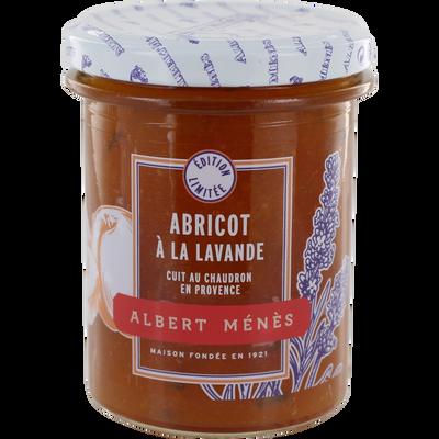 Confiture d'abricot et lavande ALBERT MENES,280g