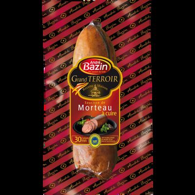 Saucisse de Morteau fumée IGP BAZIN, 250g
