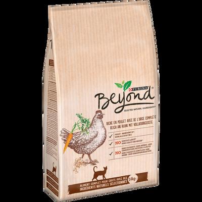 Croquettes pour chat adulte au poulet avec de l'orge complète Beyond PURINA, sac de 1,4kg