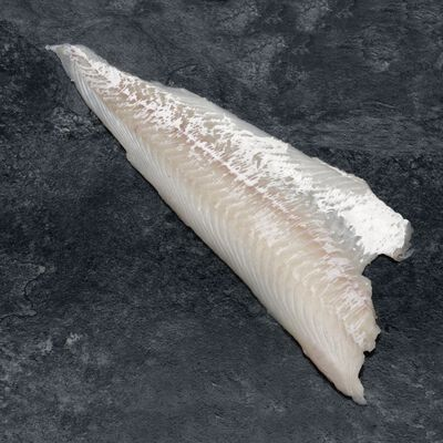 Filet d'églefin,Melanogrammus Aeglefinus, calibre 100/300g, pêché en atlantique Nord Est