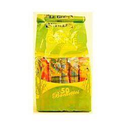 St 50 bûchettes/sucre de canne 250g