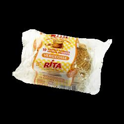 Gaufres à la vergeoise et au lait RITA , 300g