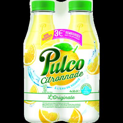 Citronnade PULCO, 4 bouteilles de 50cl