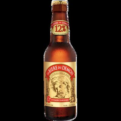 """Bière blonde """"La Bière du Démon"""" 12°, bouteille  de 33cl"""