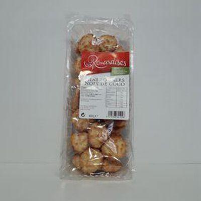 Mini rochers noix de coco LES RENARDISES barquette 400g