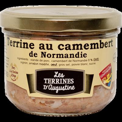 Terrine au camembert de Normandie LES TERRINES D'AUGUSTINE, 190g