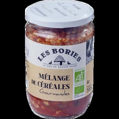 Mélange de céréales gourmandes bio LES BORIES, 585g