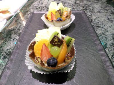 Corbeilles aux fruits X2