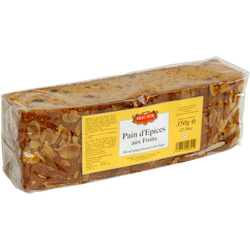 Pain d'épices aux fruits 350g