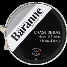Cirage de luxe noir BARANNE, boîte de 75ml