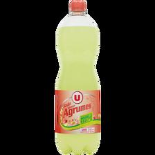 Soda saveur agrumes U, bouteille de 1,5l