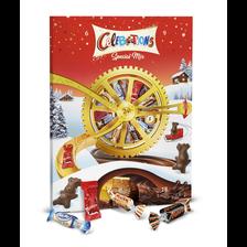Célébrations Calendrier De L'avent Roue Chocolats Assortis , 239g