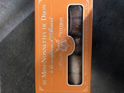 10 MINI-NONNETTES pain d'épices fourré à la confiture d'abricot 190g
