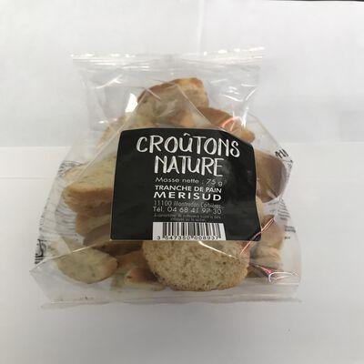 Croutons nature MERISUD sachet de 75g
