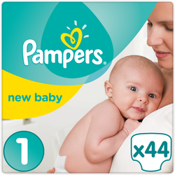 Couches nwe baby premium Protection PAMPERS 3-4kg Geant T1 x44