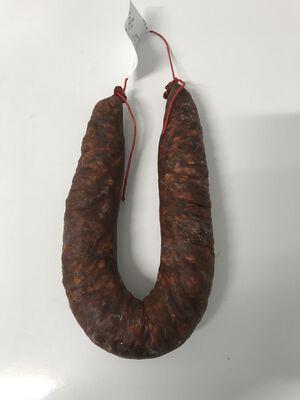 Chorizo courbe purc porc Teyssier salaisons 250g