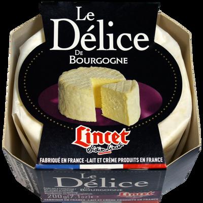 Brillat Savarin affiné Délice de Bourgogne LINCET, 38% de MG, 200g