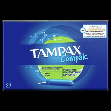 Always Tampons Compak Super Avec Applicateur Tampax Always X27