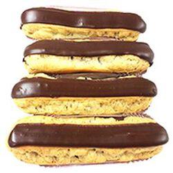 4 ECLAIRS CHOCOLAT