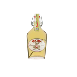 Liqueur de Génépi 1821 40° DOLIN, flasque verre 20cl