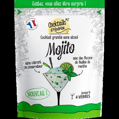 Cocktail granité mojito sans alcool COCKTAILS D'HADRIEN, doypack de 600ml