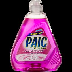 Liquide vaisselle vinaigre blanc extrême PAIC, flacon de 500ml