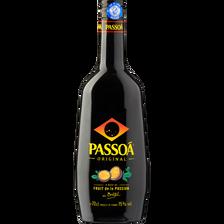 Liqueur aux arômes de fruits de la passion PASSOA, 15°, bouteille de 70cl