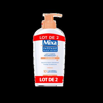 Mixa Lait Pour Le Corps Dermato Intensif Pour Peaux Sèches Mixa, 2 Flaconsde 250ml