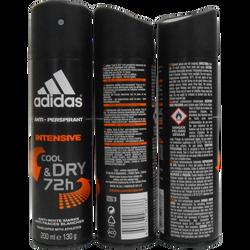 Déodorant pour homme Intensive Cool & Dry Male ADIDAS, spray de 200ml