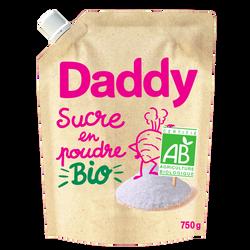 Sucre en poudre de betterave bio DADDY, profil pack 750g