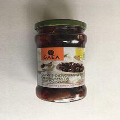 GAEA - OLIVES DENOYAUTEES DE KALAMATA BIOLOGIQUES - 160G