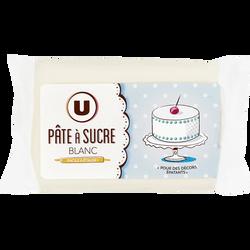 Pâte à sucre paton blanc U, 250g