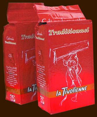 Café moulu traditionnel,LA TIVOLIENNE, paquet de 250g