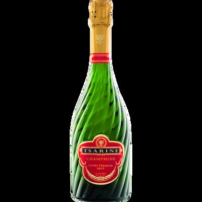 Champagne brut cuvée prenium TSARINE, bouteille de 75cl