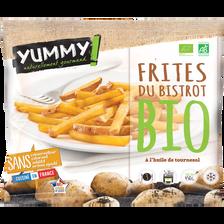 Frites du bistrot bio surgelées YUMMY 450g