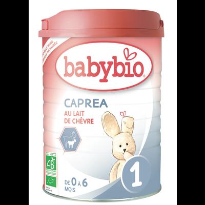 Lait de chèvre pour nourrissons caprea, BABYBIO, de 0 à 6 mois, 900g