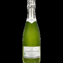 vins AOC Clairette de Die Tradition U BIO, bouteille de 75cl