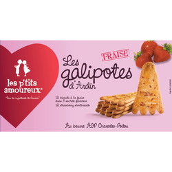 Galipotes aux fraises LES PETITS AMOUREUX, 120g