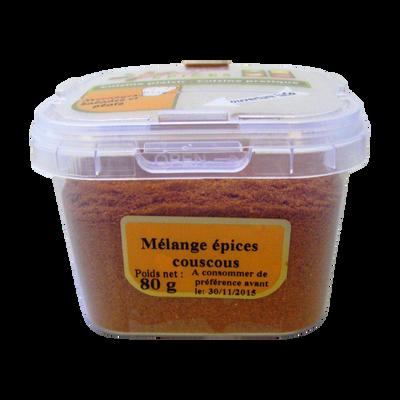 Mélange d'épices pour couscous, pot 80g