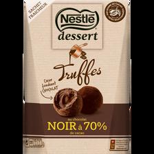 Nestlé Dessert Truffes Noir 70%  250g