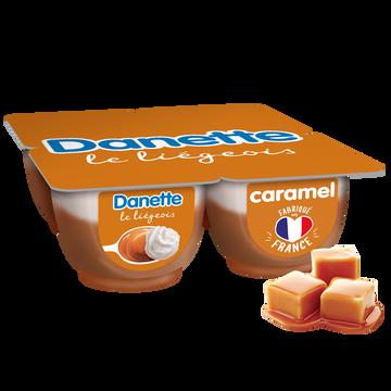 Danone Liégeois Caramel Danette, 4x100g