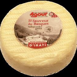 """Fromage de brebis au lait thermisé """"St Sauveur des Basques"""", 28%MG,"""